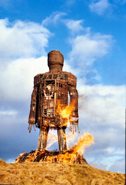 The Wicker Man is waiting