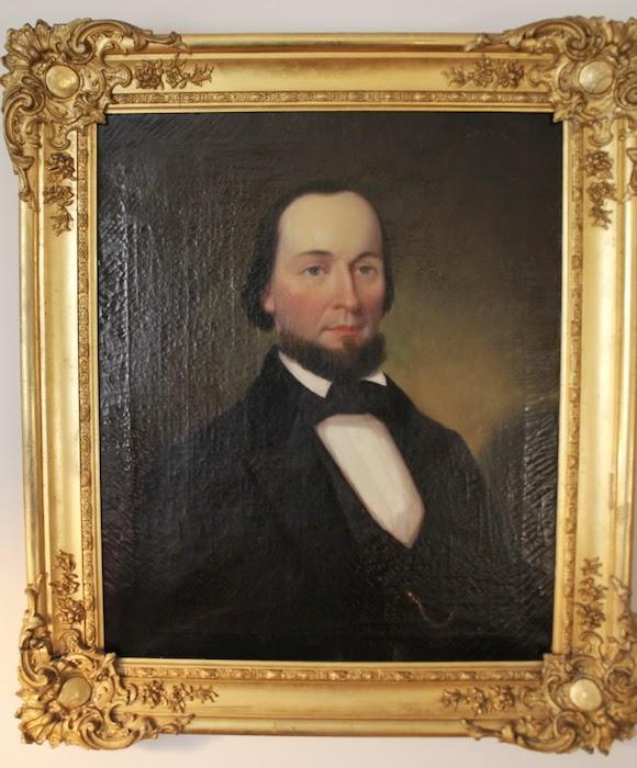 Van Manning Oil Portrait