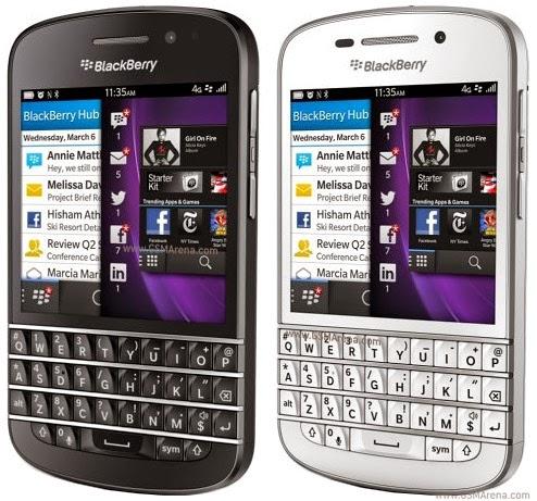 Harga Blackberry Q10 Terbaru dan spesifikasi