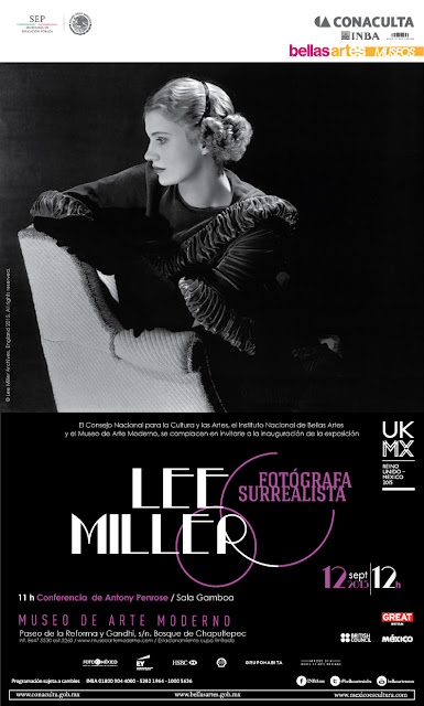 """Retrospectiva """"Lee Miller – Fotógrafa surrealista"""" en el Museo de Arte Moderno"""