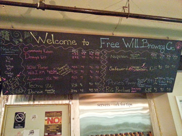 Free Will Brewing Co., Craft Beer, Perkasie, PA