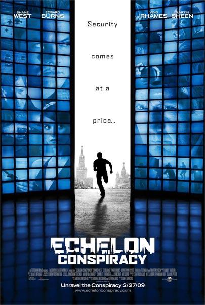 Conspiración Echelon ( HD 720P y español Latino 2009) poster box cover