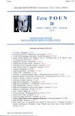 Pound Ezra - Bibliografia