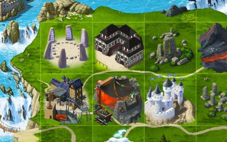 صورة لابنية اللعبة مملكات في الحرب
