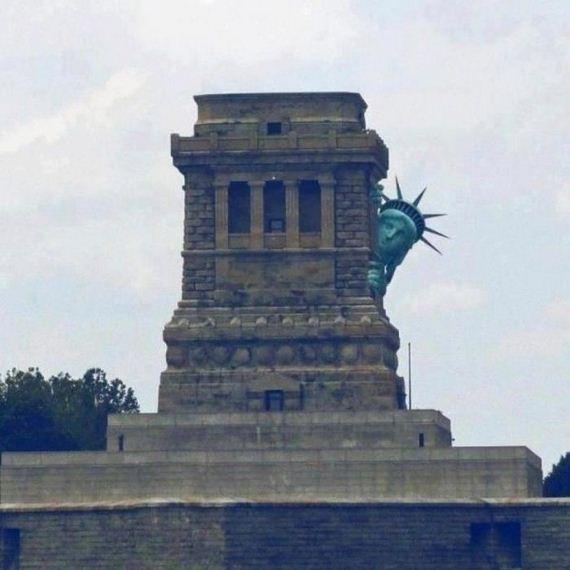 Até ela teve medo do furacão Sandy