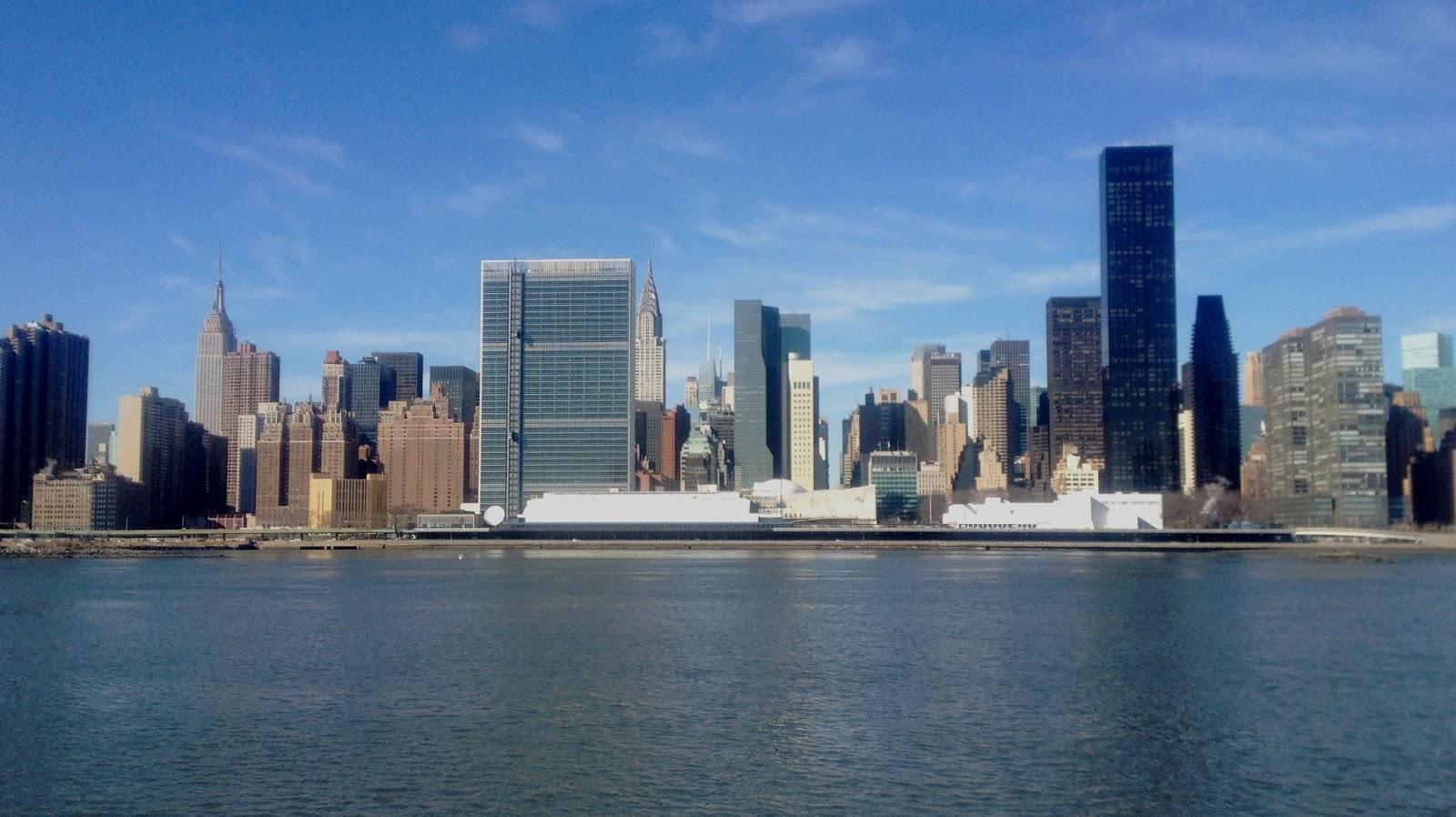 Gantry Plaza State Park, une vue epoustouflante sur la skyline de New York