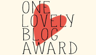 Lovely Blog Award August 2016