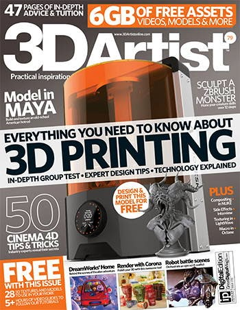 3D Artist Magazine Issue 79 2015