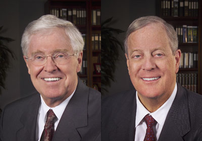 The cash roc unc professor confirms koch brothers money for David charles koch