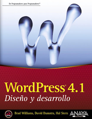LIBRO - WordPress 4.1. Diseño y desarrollo  Brad Williams , David Damstra , Hal Stern  (Anaya Multimedia - 4 junio 2015) | INFORMATICA  Edición papel & ebook kindle | Comprar en Amazon