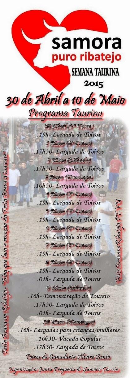 Festa Brava em Samora Correia