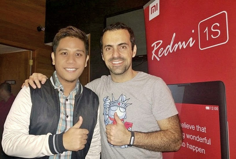 Hugo Barra, Mark Milan Macanas, Xiaomi Philippines