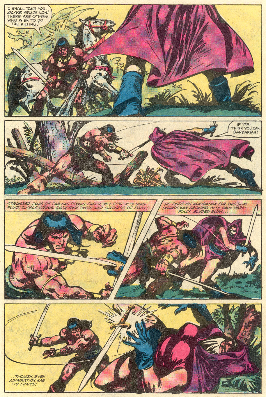 Conan the Barbarian (1970) Issue #134 #146 - English 5