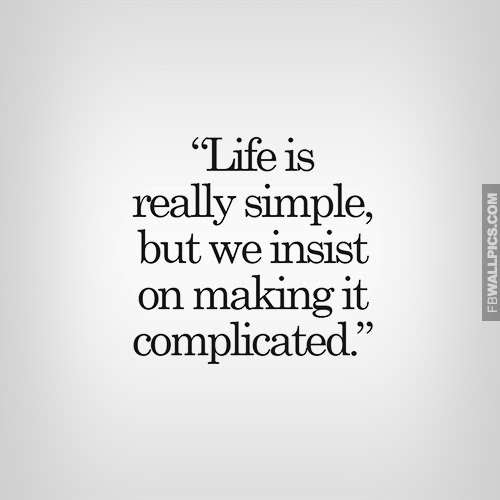 complicatingsimplethings