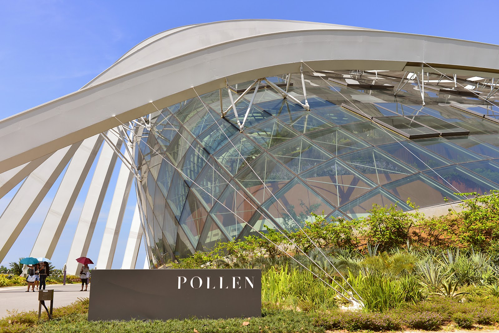 pollen gardens by the bay singapore