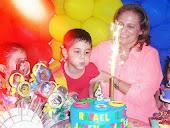 Aniversário todo NoCaprixo de Rafael - 4 aninhos - Jovens Titãs