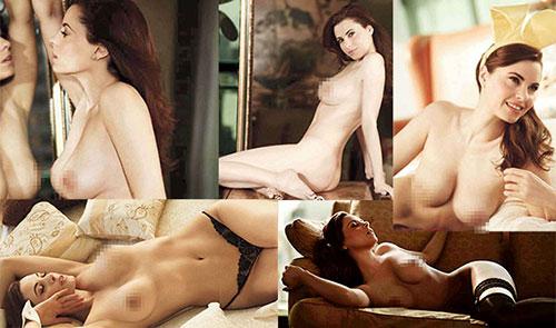 IMAGEN: Filtran fotos de Yolanda Ventura desnuda en Playboy #