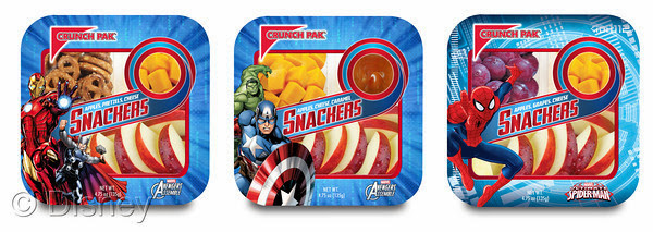 Marvel and Crunch Pak