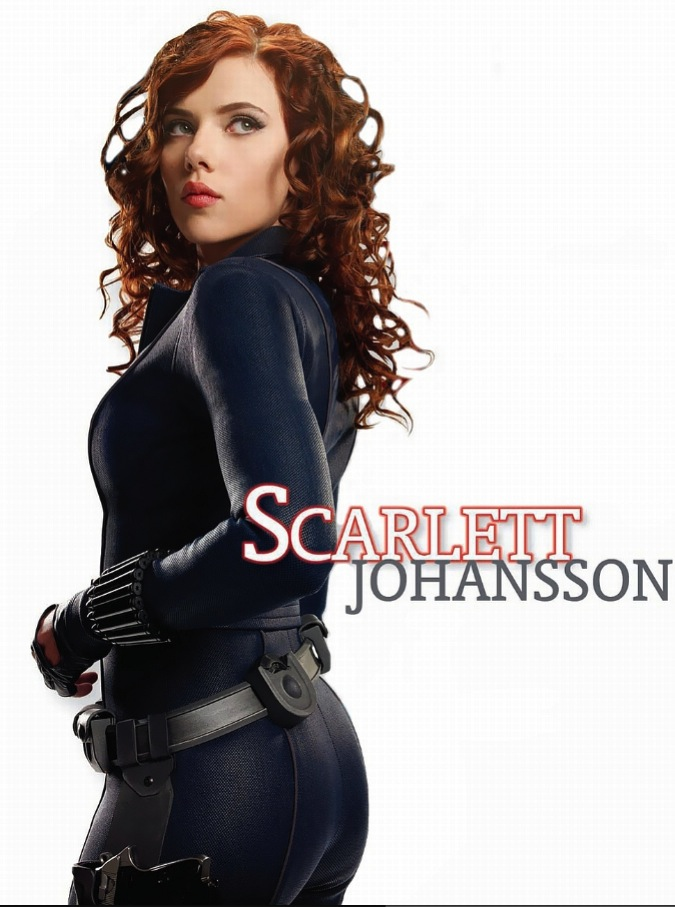 scarlett black widow