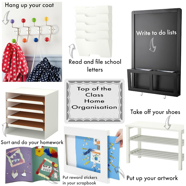 Home Interiors:  How to keep organised for School