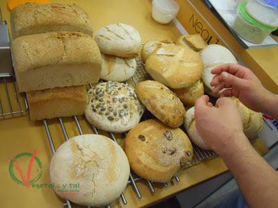 Un buen repertorio de los panes elaborados.