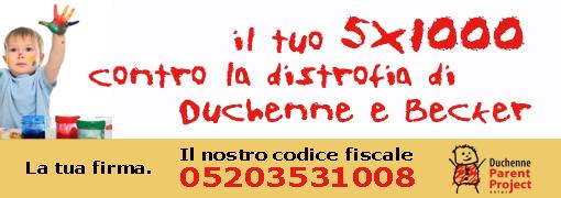 DONA IL TUO 5 X 1000 ALLA RICERCA
