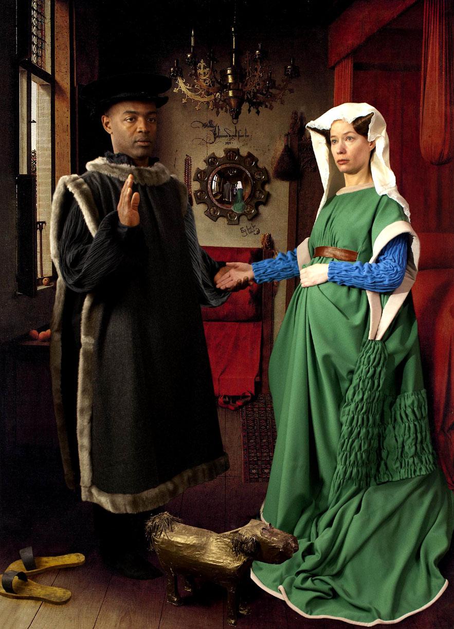arnolfini marriage by jan van eyck The portrait of giovanni arnolfini and his wife giovanna cenami (the arnolfini  marriage), 1434 by jan van eyck northern renaissance portrait national.