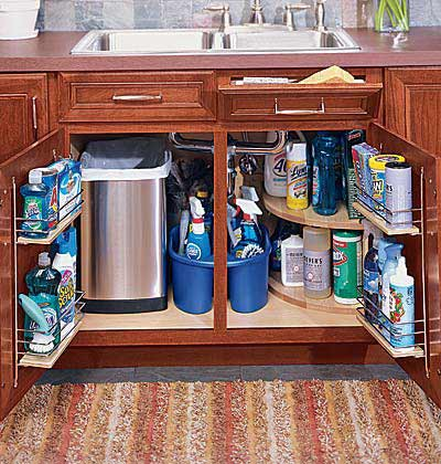 Our forever house 31 days to a functional kitchen day 6 Kitchen under cabinet storage ideas