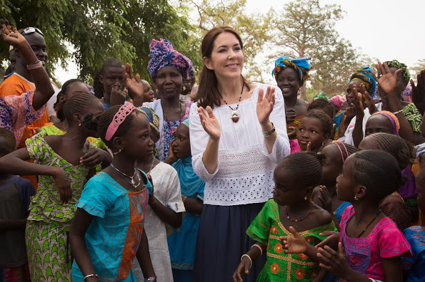 Crown Princess Mary Of Denmark's Visit To Senegal