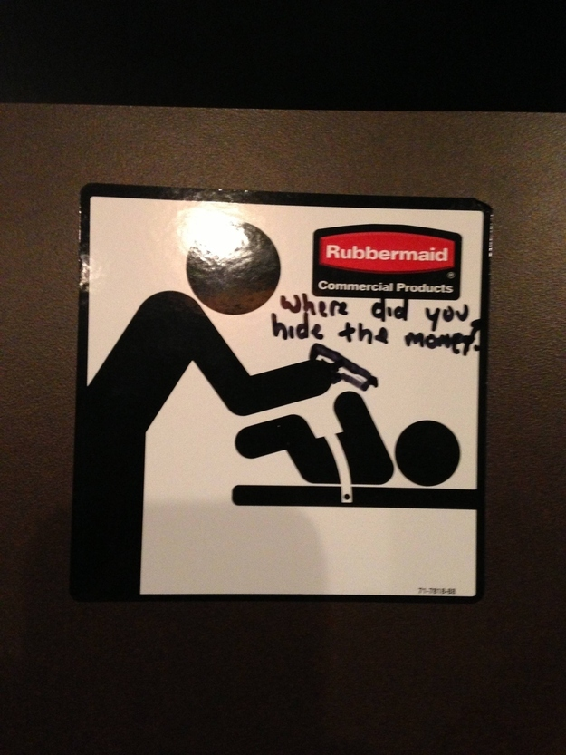 25 Signs Improved by Graffiti, funny graffiti signs, funny signs