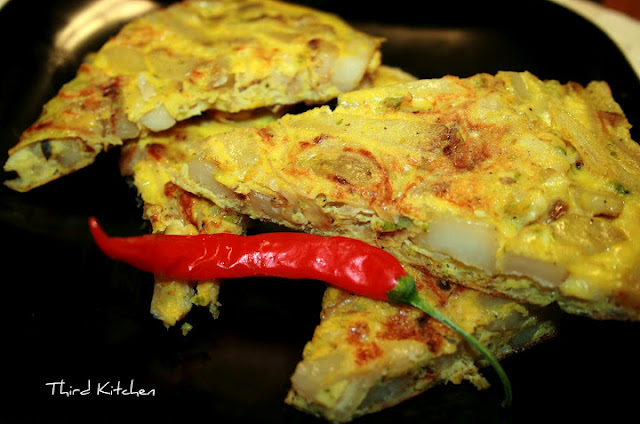 Third Kitchen: Spicy Spanish Omelette