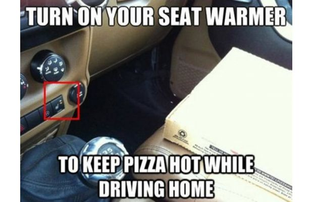 Keep Your Pizza Warm in the Car