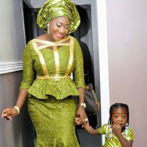 Actress Mercy Johnson posts more family pictures