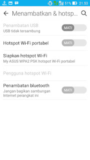 hotspot android