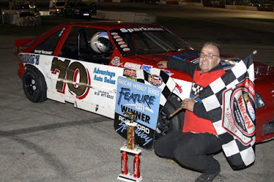 Auto Racing Hawkeye Downs on Auto Racing Independent   August 2011