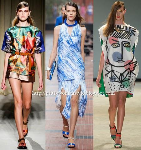 Модни туники 2014