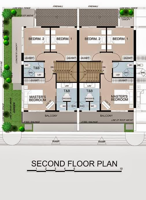Up And Down House Floor Plan House Design Plans