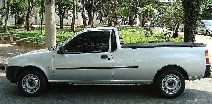 Ford Courier 2008 1.6 Flex - Preço