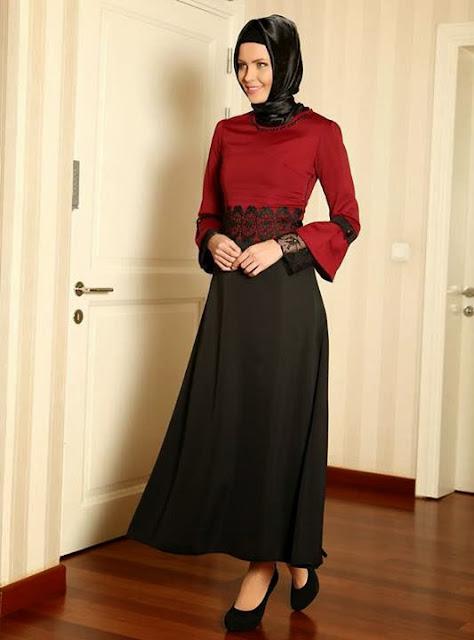 Hijab rouge