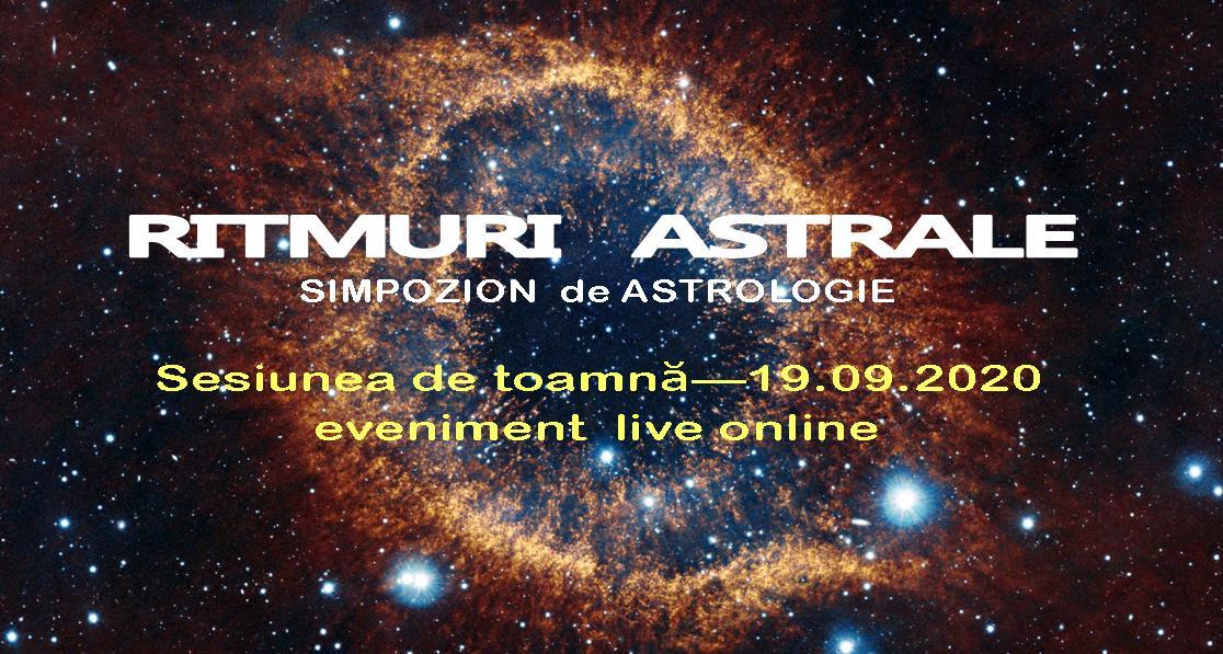 Ritmuri Astrale - simpozion astrologie, toamna 2020