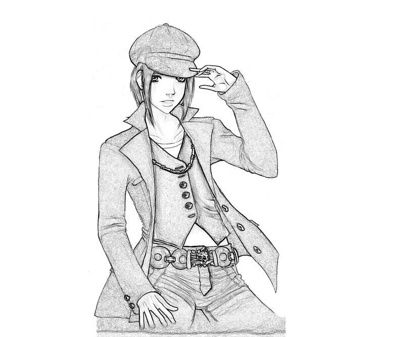 printable-isamu-nitta-character_coloring-pages-1
