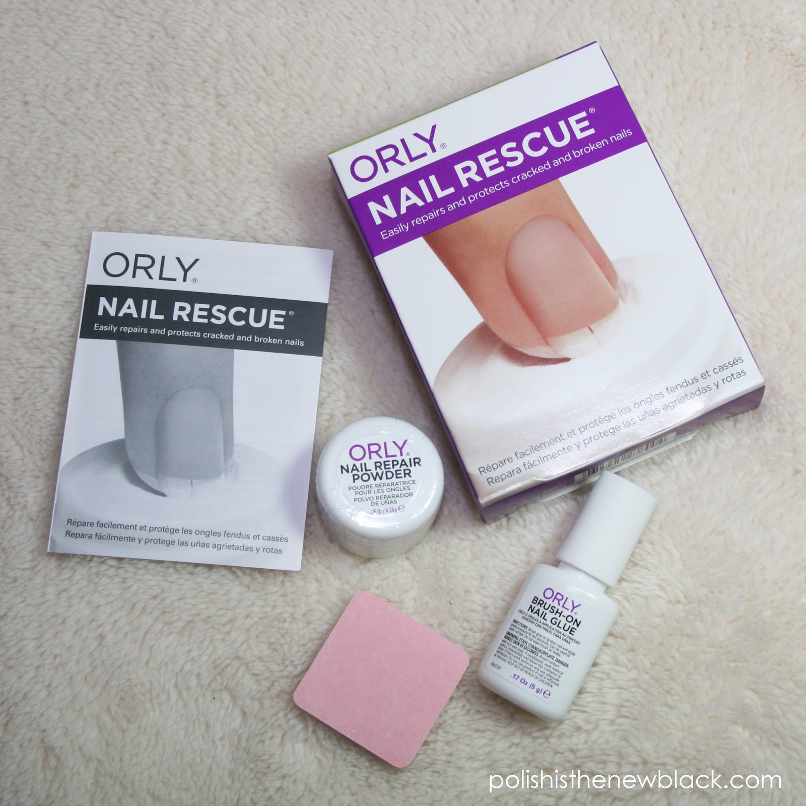 UPDATE: My experience with Orly Nail Rescue / Polish Is The New Black