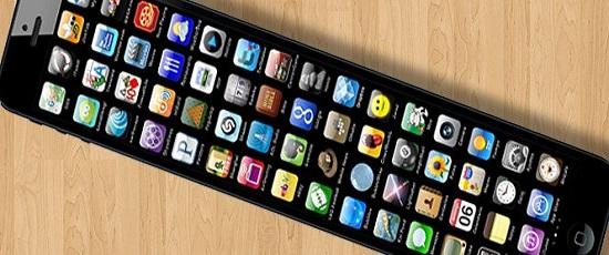 smartphone com tela gigante