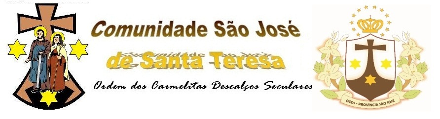 Blog da Comunidade São José de Santa Teresa