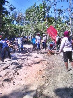 Pembangunan Jalan Sempu - Godang 2013
