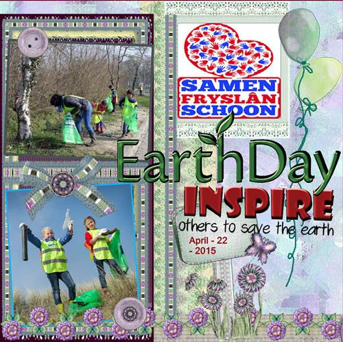 April 2015 - Save the Earth. - kopie