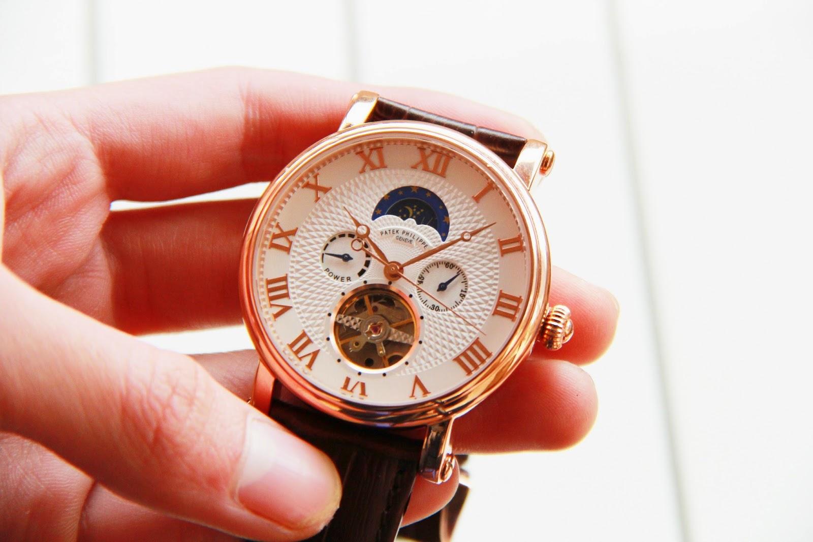 Đồng hồ nam patek philippe P32 cao cấp