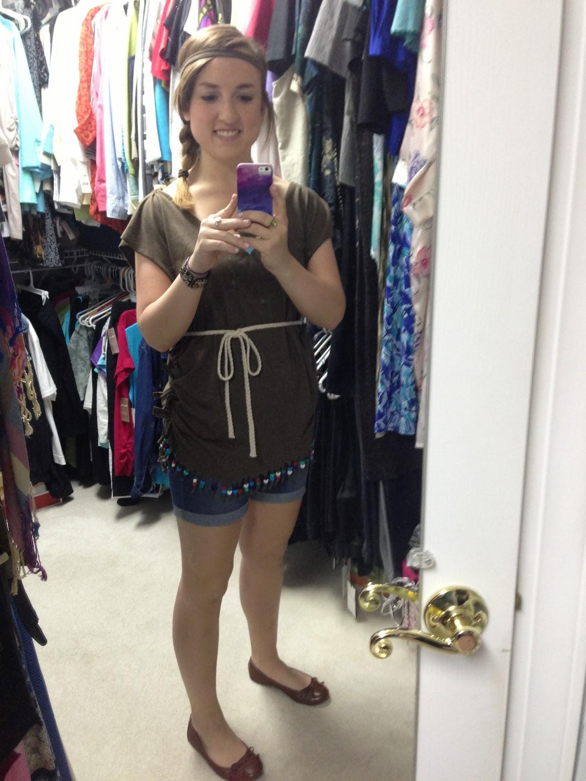 sc 1 st  Marisa Markwardt & Marisa Markwardt: DIY: Native American Costume