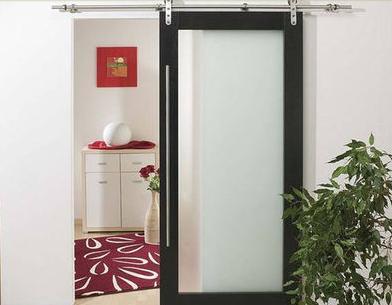Fotos y dise os de puertas puertas corredizas en madera for Puerta corrediza de madera