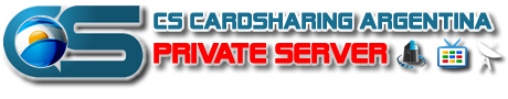 CS CARDSHARING ARGENTINA PRIVATE SERVER